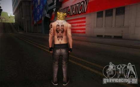 King from Tekken для GTA San Andreas второй скриншот