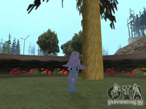 Trixie для GTA San Andreas третий скриншот