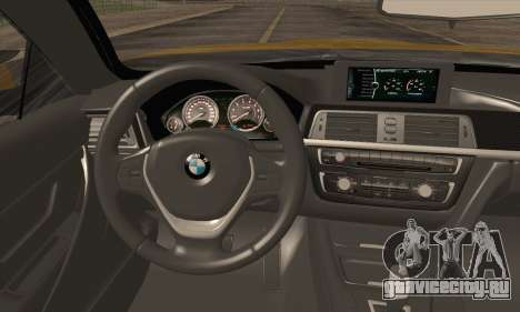 BMW M4 F80 Stanced для GTA San Andreas вид сзади