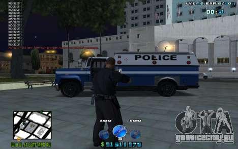 C-HUD by Mr.Riko для GTA San Andreas второй скриншот