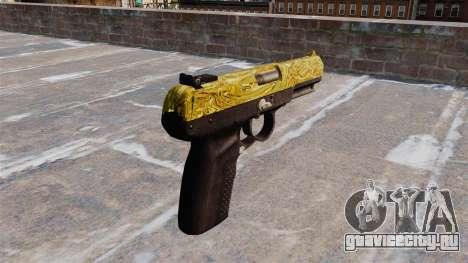 Пистолет FN Five-seveN Gold для GTA 4 второй скриншот
