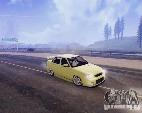 Lada 2170 Priora Tuneable для GTA San Andreas