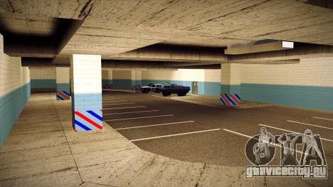 Новый гараж LSPD для GTA San Andreas пятый скриншот
