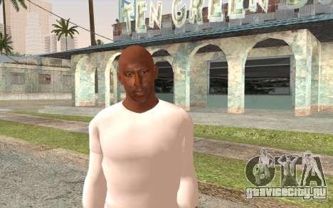Tyrese Gibson из Форсаж 2 для GTA San Andreas третий скриншот