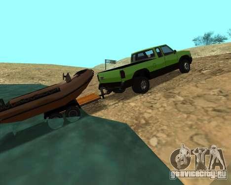 Новый Pickup для GTA San Andreas двигатель