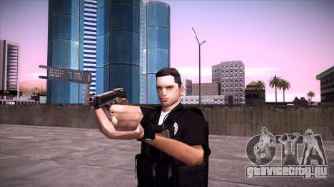 Special Weapons and Tactics Officer Version 4.0 для GTA San Andreas седьмой скриншот