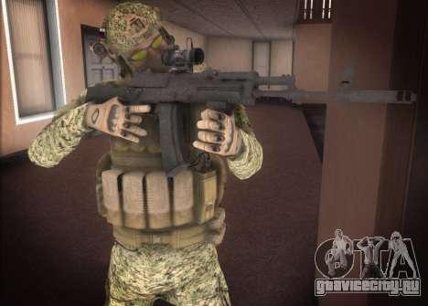 Альфа Антитеррор для GTA San Andreas второй скриншот