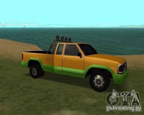 Новый Pickup для GTA San Andreas вид слева