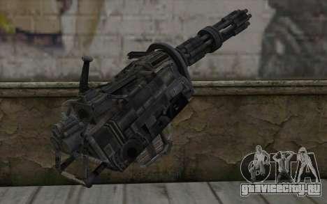 Minigun из Fallout для GTA San Andreas второй скриншот