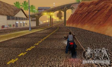 Heavy Roads (Los Santos) для GTA San Andreas шестой скриншот