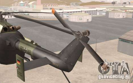 Bo-105 для GTA San Andreas вид справа