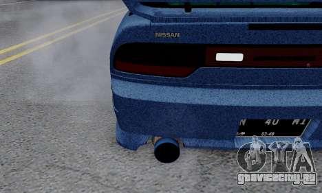Nissan 240SX для GTA San Andreas вид сверху
