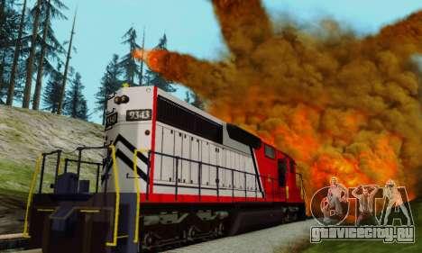 GTA V Trem для GTA San Andreas вид сзади