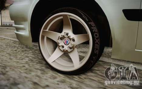 Hyundai Polis TR для GTA San Andreas вид сзади слева