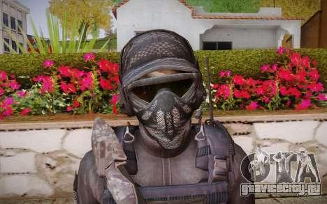 Kick из Call of Duty: Ghosts для GTA San Andreas третий скриншот