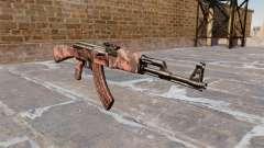 Автомат АК-47 Red tiger