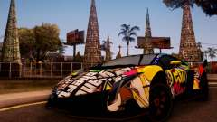 Lamborghini LP750-4 2013 Veneno Stikers Editions для GTA San Andreas