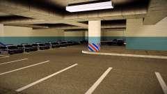 Новый гараж LSPD