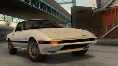Mazda RX-7 GSL-SE 1985 IVF для GTA San Andreas