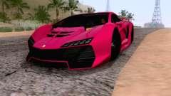 Pegassi Zentorno GTA 5 v2 для GTA San Andreas