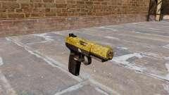Пистолет FN Five-seveN Gold для GTA 4