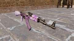 Автомат АК-47 Purple camo