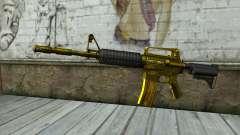 Золотая M4 без прицела