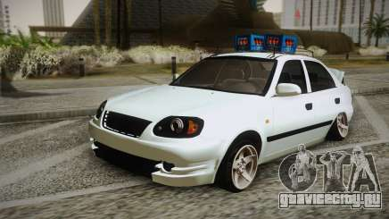 Hyundai Polis TR для GTA San Andreas