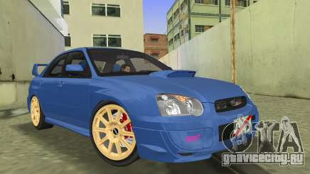 Subaru Impreza WRX STI 2005 седан для GTA Vice City