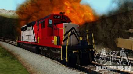 GTA V Trem для GTA San Andreas