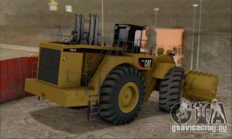 Caterpillar 994F для GTA San Andreas вид слева