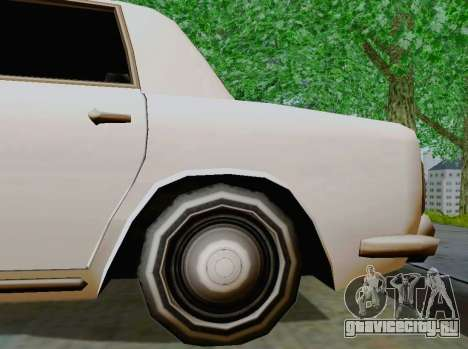Stafford Limousine для GTA San Andreas вид сзади
