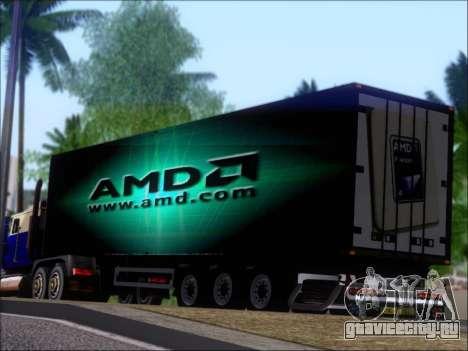 Прицеп AMD Phenom X4 для GTA San Andreas колёса