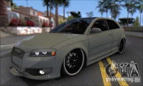 Audi S3 2006 Custom для GTA San Andreas