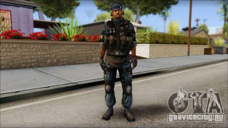 Sami GIGN from Soldier Front 2 для GTA San Andreas