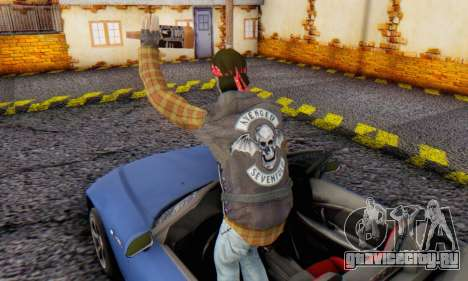 Biker A7X 2 для GTA San Andreas третий скриншот