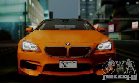 BMW M6 F13 2013 для GTA San Andreas салон