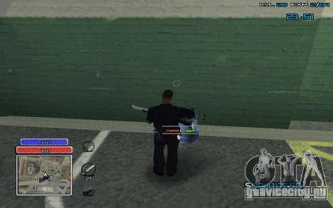 New C-HUD v.2 для GTA San Andreas