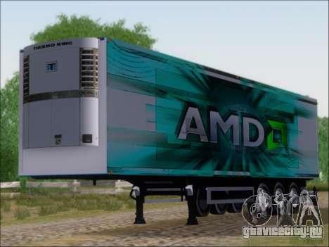 Прицеп AMD 64 Athlon X2 для GTA San Andreas вид слева