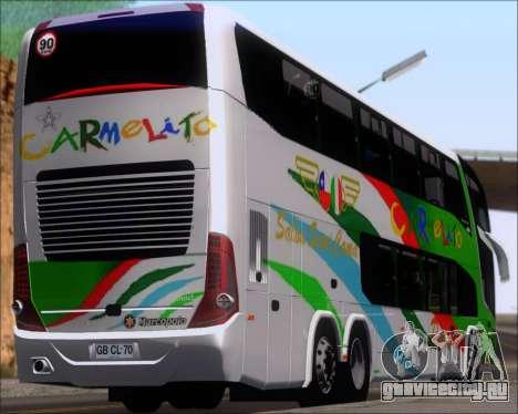 Marcopolo Paradiso G7 1800 DD 6x2 Scania K420 для GTA San Andreas