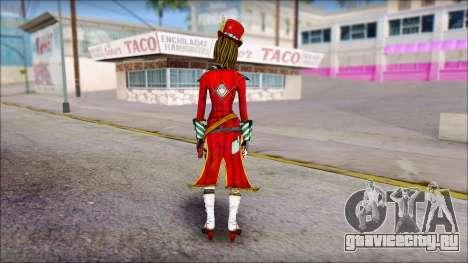 Moxxi from Borderlands для GTA San Andreas второй скриншот
