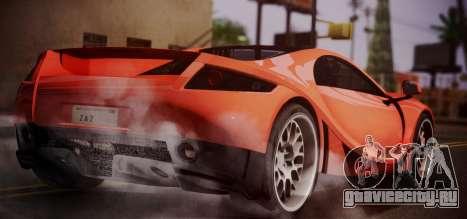 Spano Black для GTA San Andreas вид слева