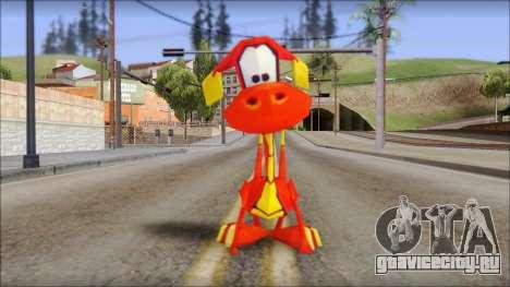 Tweek the Dragon from Fur Fighters Playable для GTA San Andreas второй скриншот