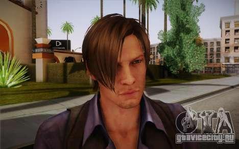 Leon Kennedy from Resident Evil 6 для GTA San Andreas третий скриншот