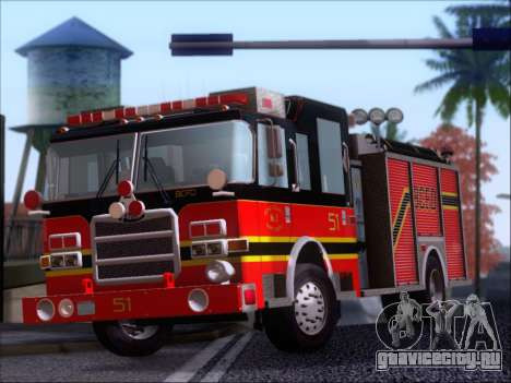 Pierce Arrow XT 2009 BCFD для GTA San Andreas