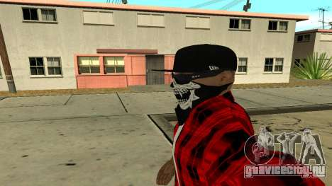 Selfie Mod для GTA San Andreas четвёртый скриншот