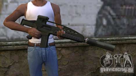 XM8 Assault Olive для GTA San Andreas третий скриншот