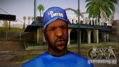 Sweet Blue Skin для GTA San Andreas третий скриншот