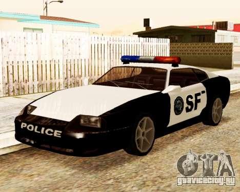 Jester Police SF для GTA San Andreas