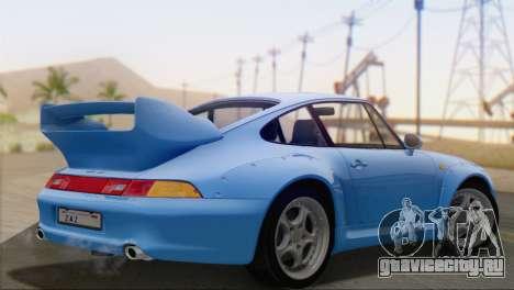 Porsche 911 GT2 (993) 1995 V1.0 SA Plate для GTA San Andreas вид слева
